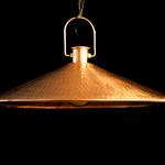 copper lamp pendant 75cm